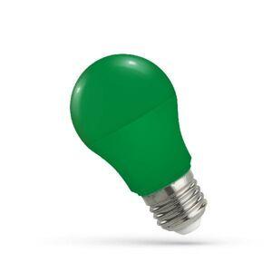 LED21 LED žárovka 5W 10xSMD2835 E27 220lm ZELENÁ